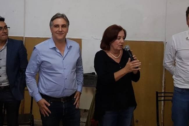 Vigo, Llaryora, Masucci y Limia juntos