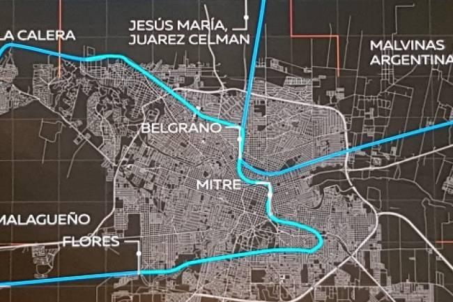 Propuesta de Ferrourbano de Hacemos por Córdoba