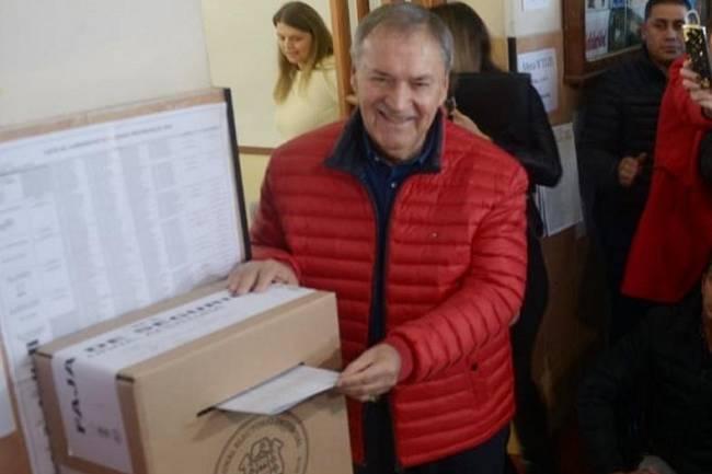 """Votó Schiaretti: """"Es un día espectacular"""""""