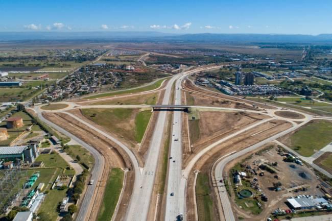 Circunvalación: se inauguró otro puente que alivia el tránsito en zona sur