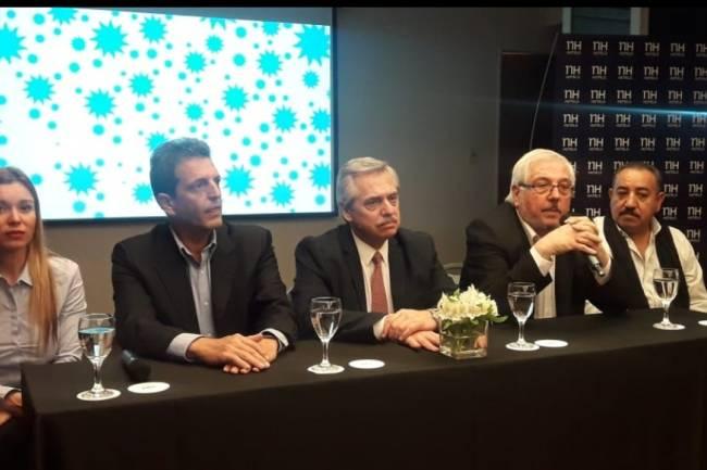 """Alberto Fernández dijo que no tiene """"nada para reclamarle"""" a Schiaretti y se hizo cargo de buscar el voto cordobés"""