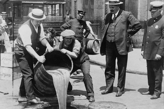 Cuando las bebidas eran ilegales