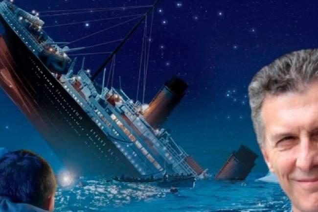 Se viene una ola de paros... Se ahoga Macri??