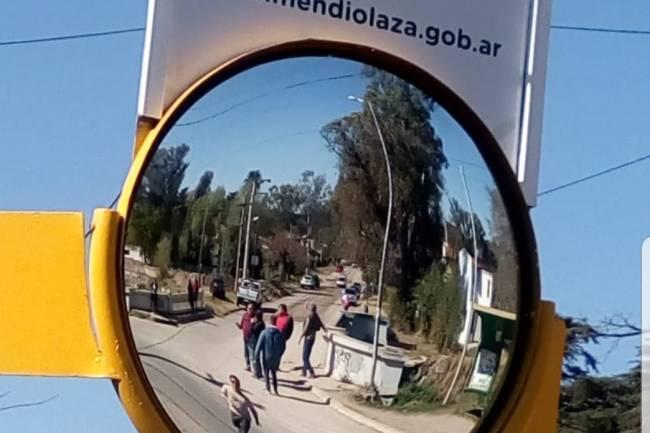 Prueban espejos en Mendiolaza