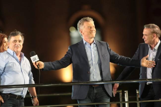 Ante una multitud Macri cerró su campaña en Córdoba