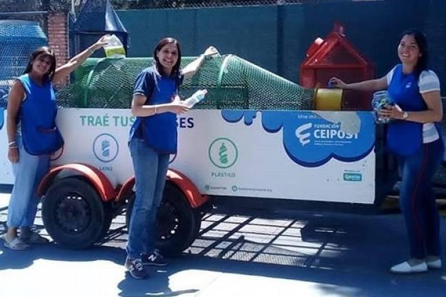 Eco Caravana a Buenos Aires para adherir a la Ley de Envases