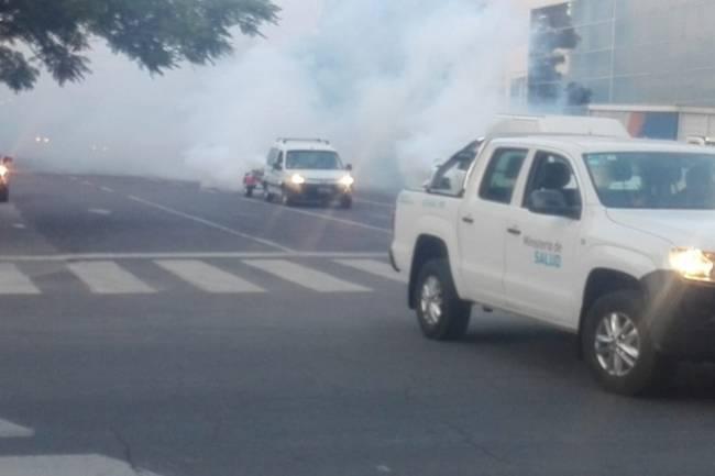 Cronograma en la ciudad: Fumigaciones para el control del dengue
