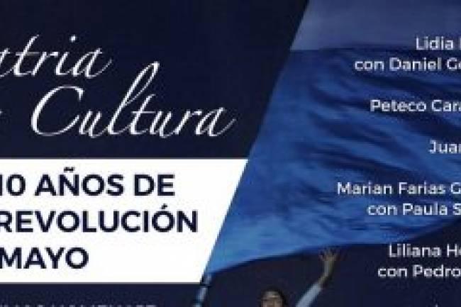 Concierto online conmemorara los 210 años de la Revolución de Mayo