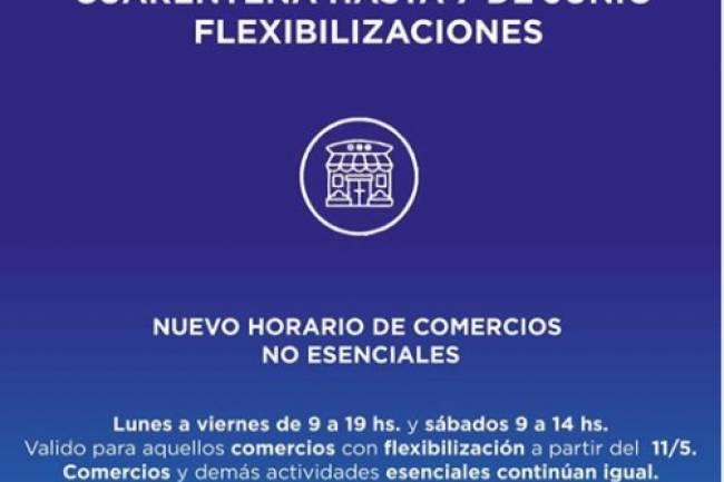 Villa Allende pide a comercios y vecinos cooperación con medidas de bioseguridad para no volver a Fase 3