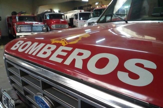 Incendio en una vivienda de Río Cuarto: adentro se encontraba una mujer con sus cuatro nietos