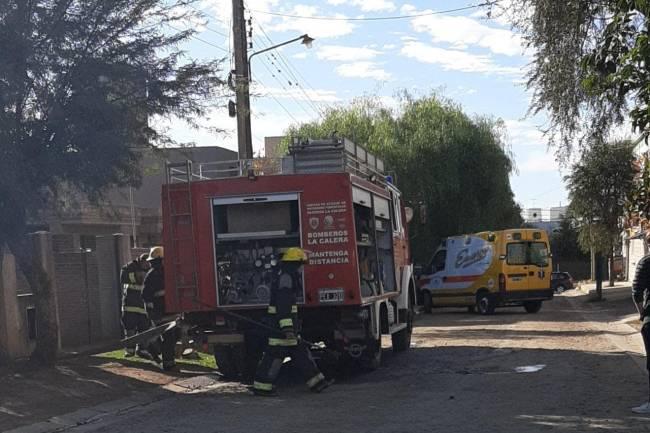 Incendio en La Calera sin lesionados