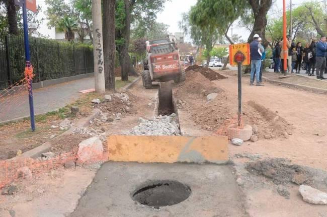 Río Cuarto: la Provincia invierte más de 278 millones en obras de saneamiento cloacal