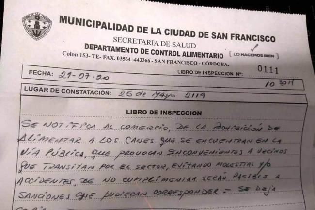 San Francisco: Municipio anula acta a comerciantes por alimentar a perros de la calle
