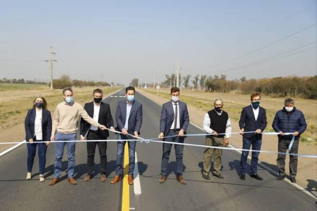 Se reinauguró un tramo de la ruta provincial N°1