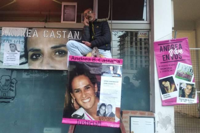 URGENTE: El papá de Andrea Castana amenaza con quitarse la vida