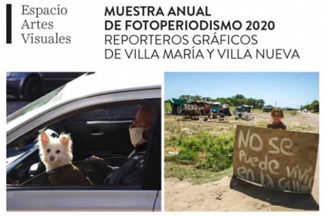 Ya se puede visitar la Muestra Anual de Fotoperiodismo en la web de la Usina Cultural de Villa María.
