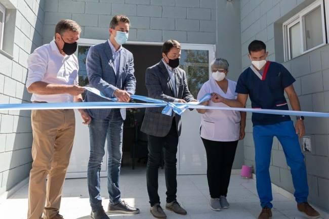 Se inauguró la ampliación del Centro de Salud de Porteña