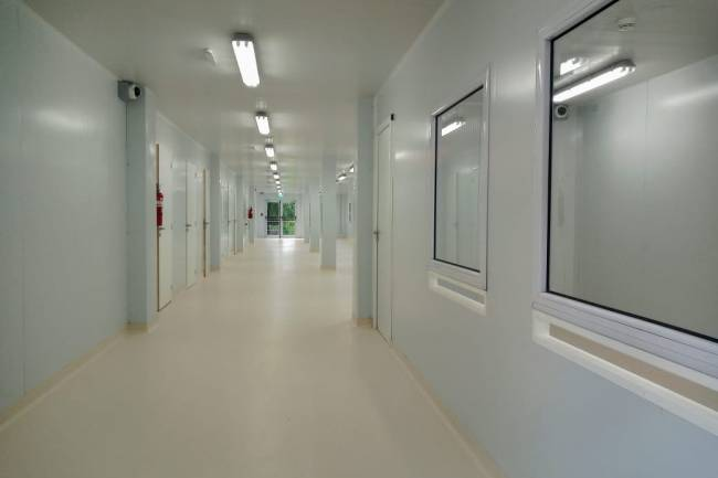 Un nuevo hospital modular está listo para inaugurarse