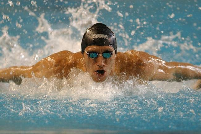 José Meolans, el nadador que dominó la escena mundial