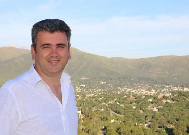 En La Falda, Javier Dieminger busca ser Intendente