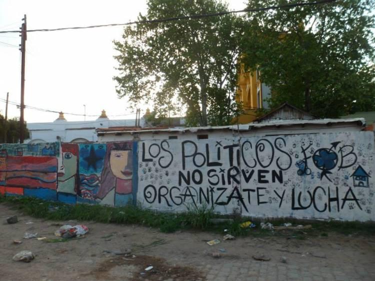 Las paredes de Córdoba dicen...