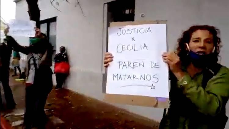 Dramático giro: El padre de Cecilia Basaldúa involucró a la policía