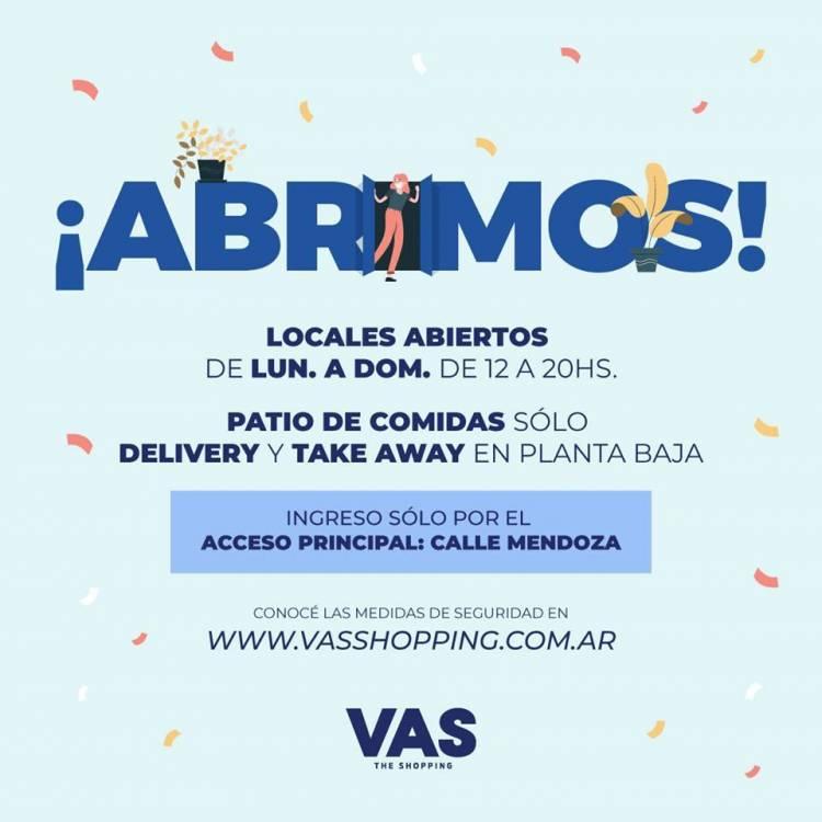 El shopping de Villa Allende abre sus puertas sin autorización