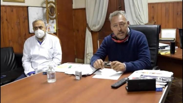 El intendente Claudio Farías confirmó el primer caso de Covid-19 en Cruz del Eje