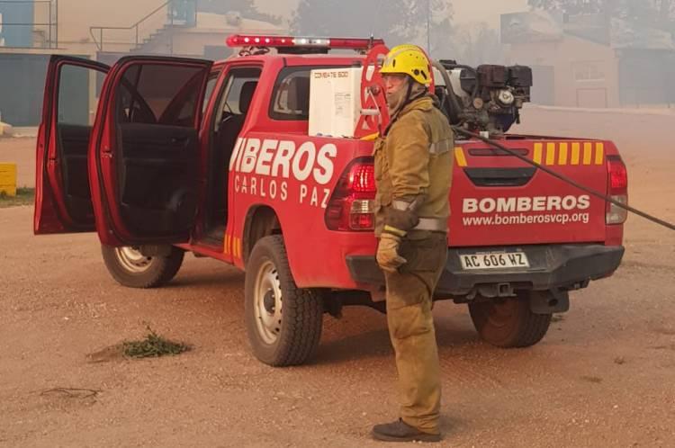Incendios: Hoy llegan a Córdoba brigadistas enviados por Nación