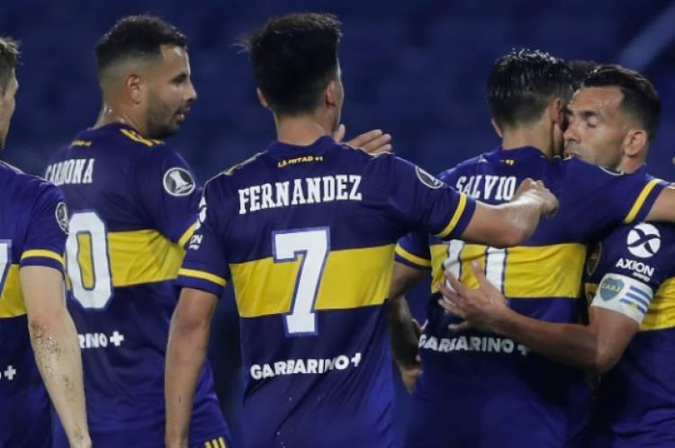Copa Libertadores: Boca cumplió con el trámite y eliminó a Caracas