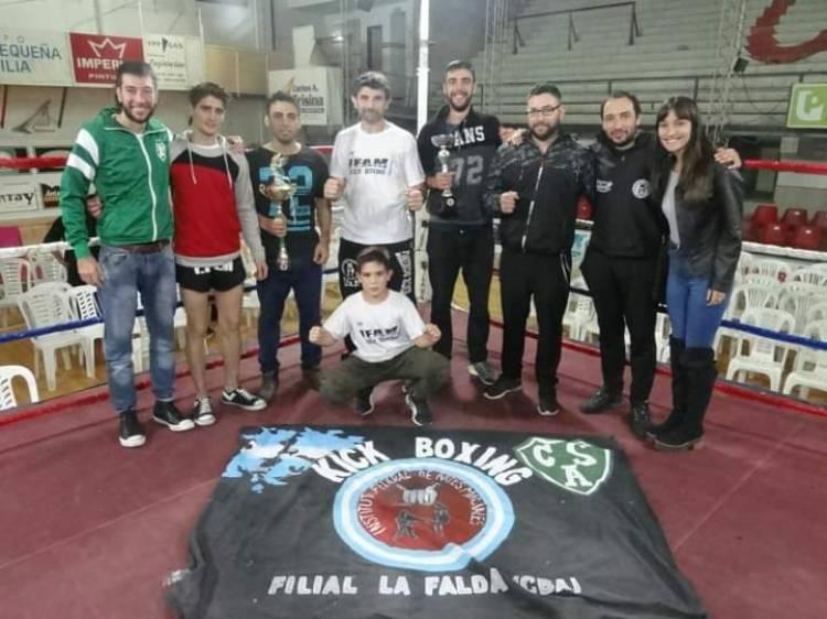La Falda y un gimnasio cuna de campeones nacionales e internacionales