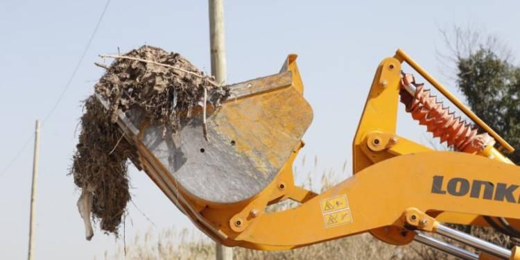 Durante agosto, retiraron 13.402 toneladas de residuos en canales y basurales